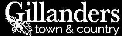 Gillanders Logo White