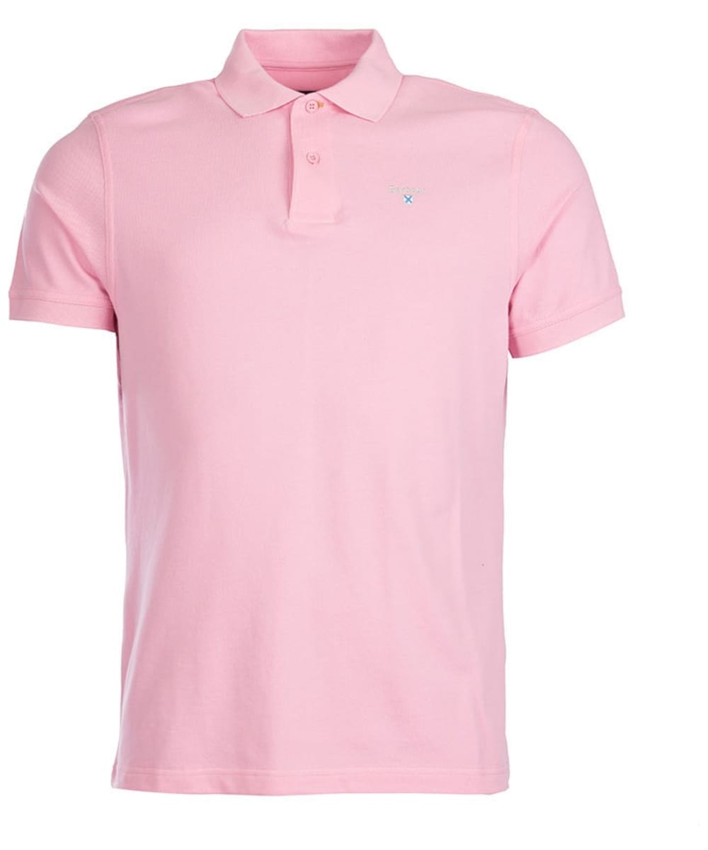 Barbour Sports Polo Pink