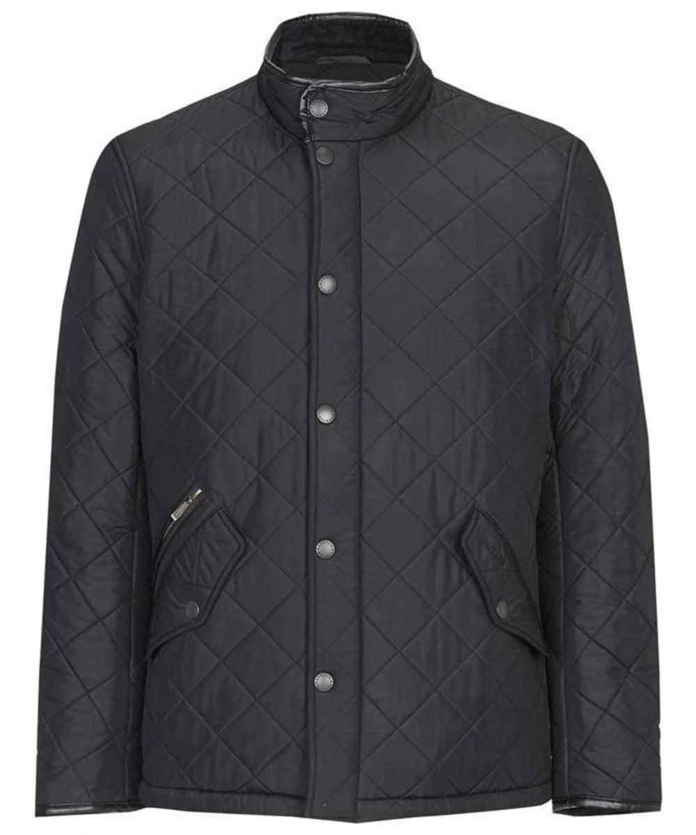 Barbour Mens Powell Quilt - Black
