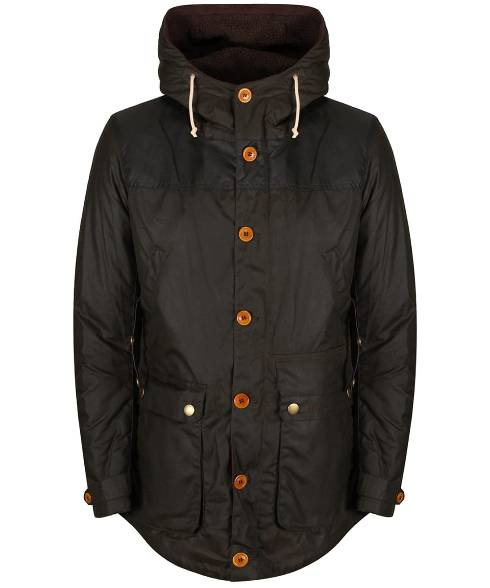 Barbour Game Waxed Parka Jacket
