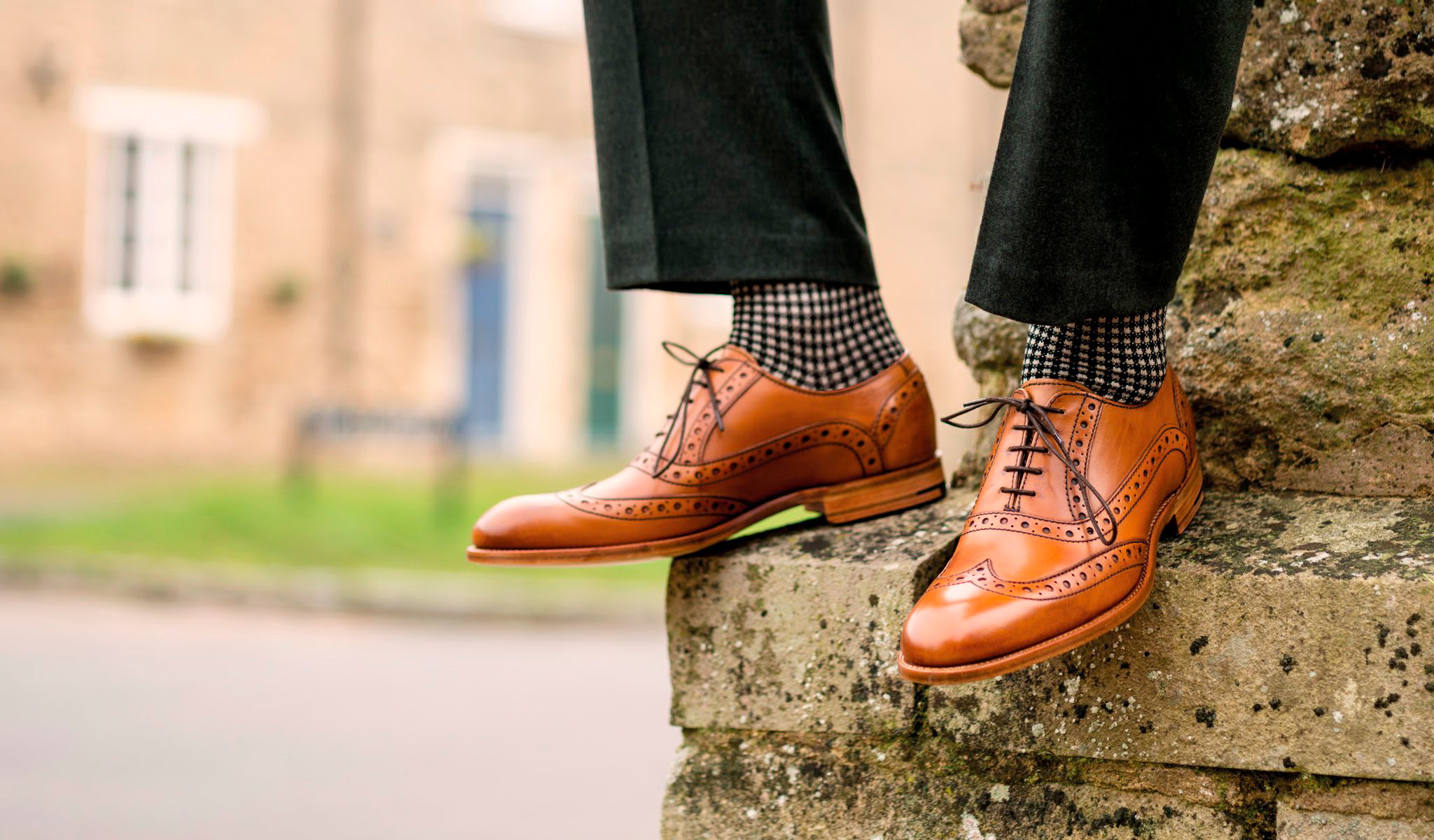 Mens Barker shoes grant style Gillanders town and country