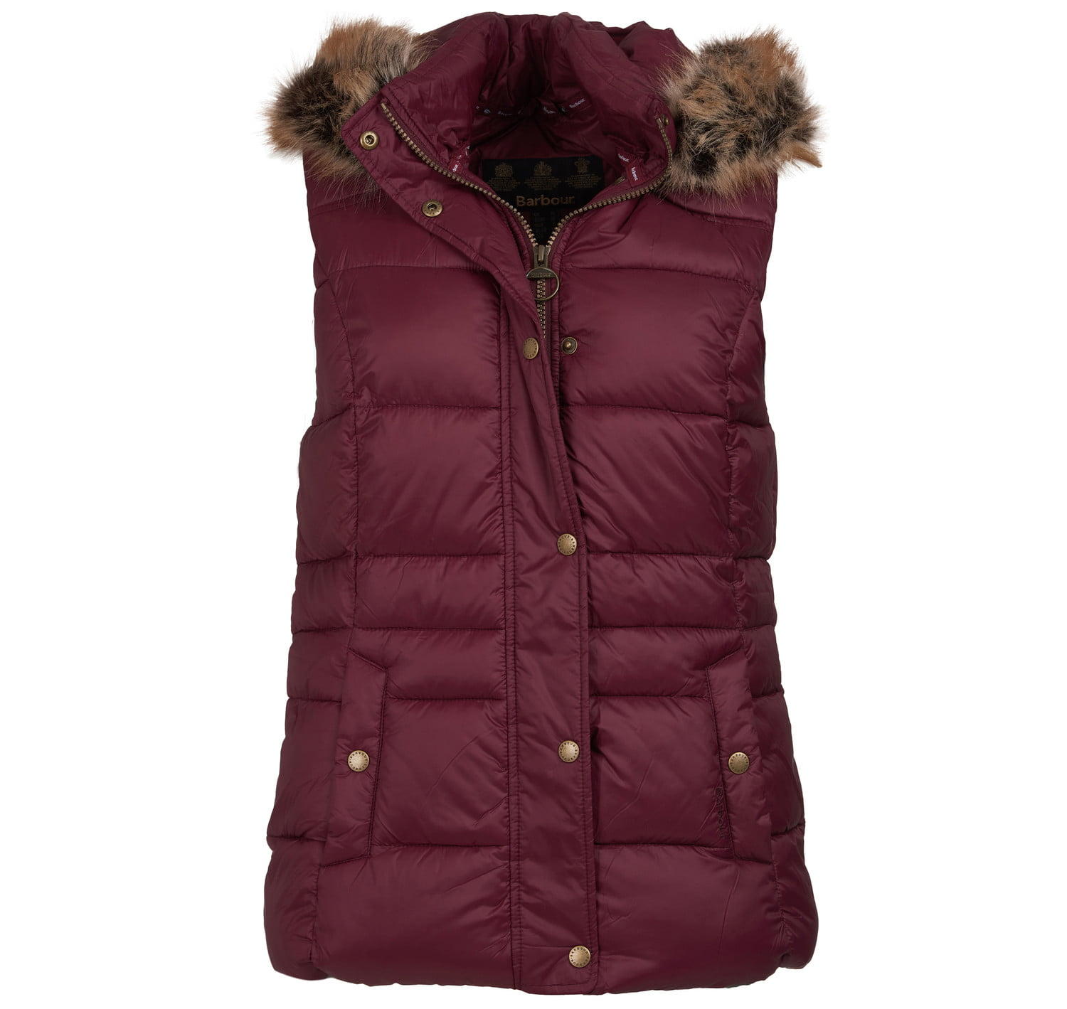 Barbour Ullswater Gilet Red