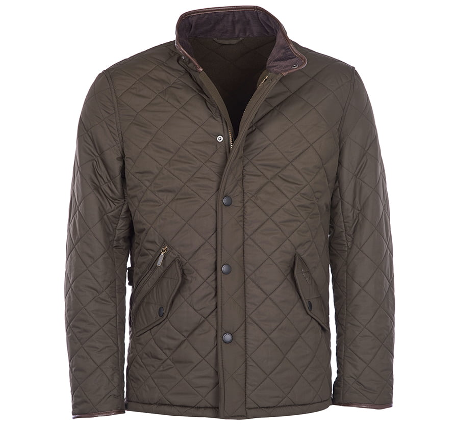 Barbour Powell Quilt - Olive