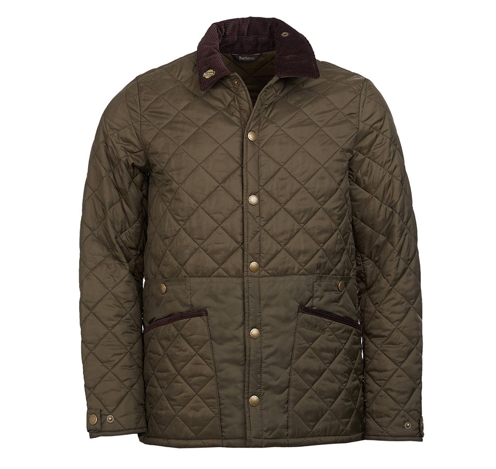 Barbour Mens Icons Liddesdale Olive