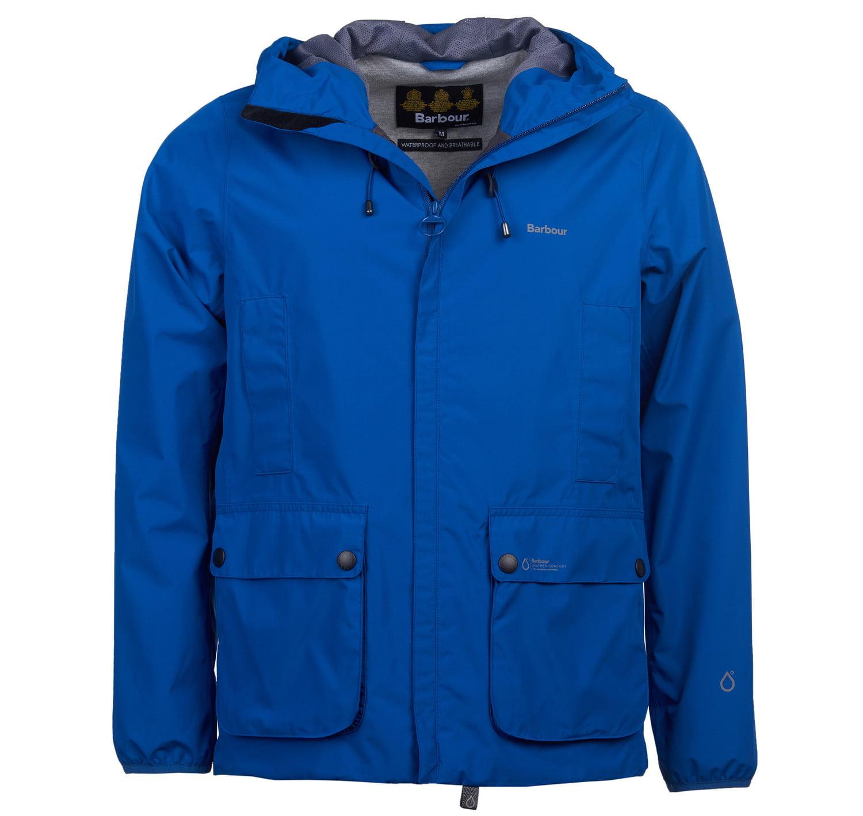 Barbour Bennett Waterproof Jacket - True Blue