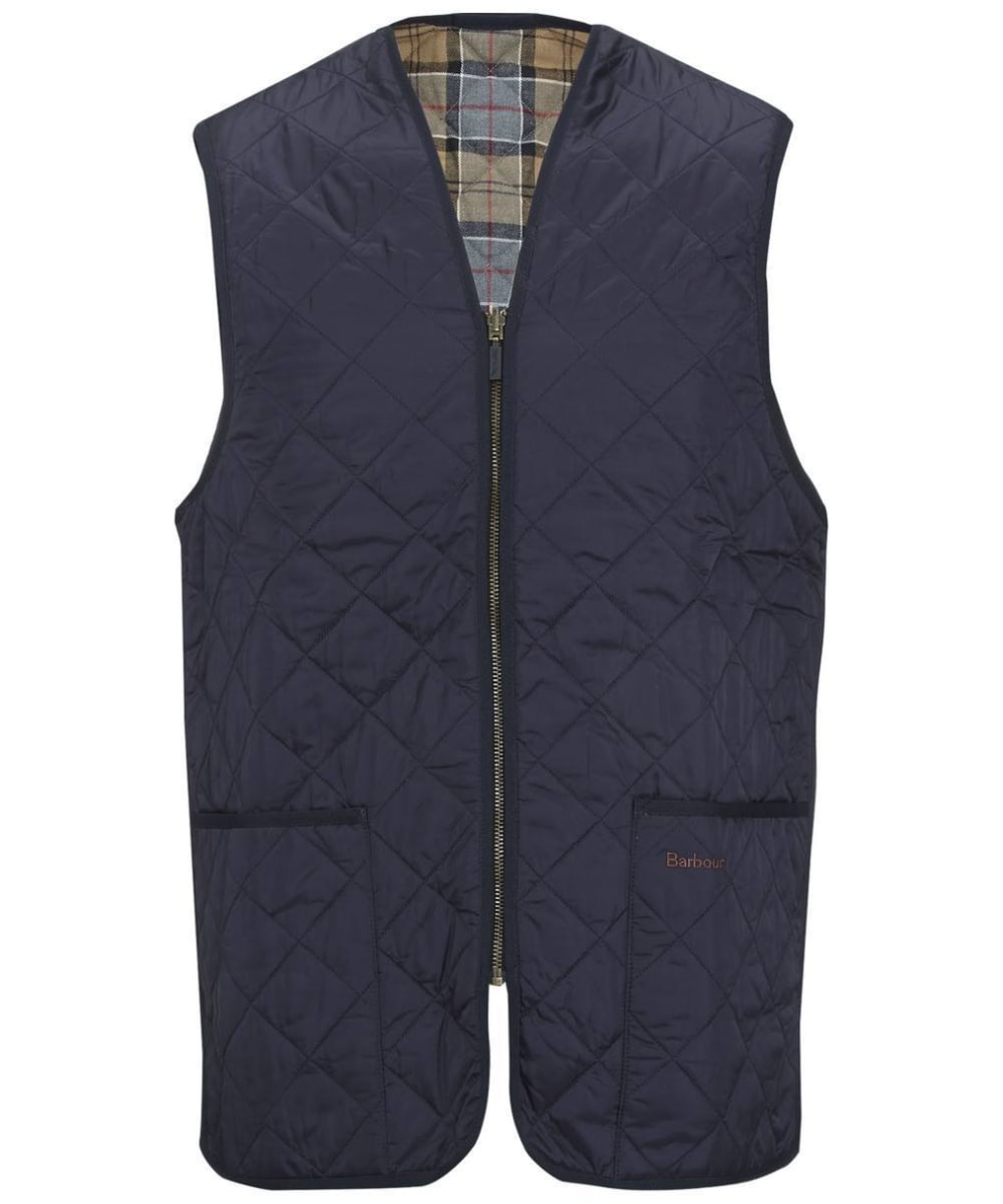 Barbour Quilted Waistcoat / Zip in Liner