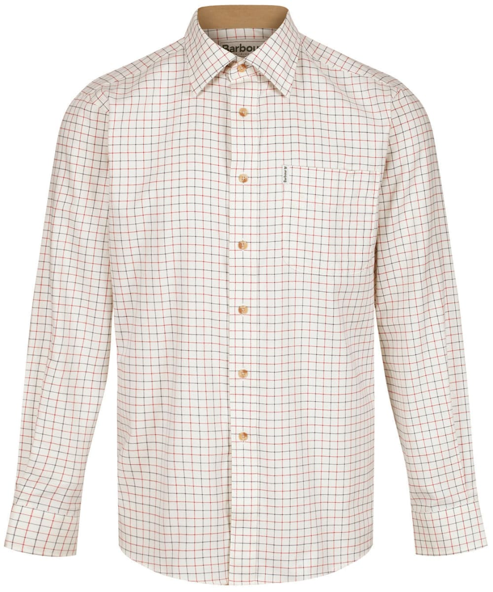 BARBOUR Field TATTERSALL SHIRT RED81