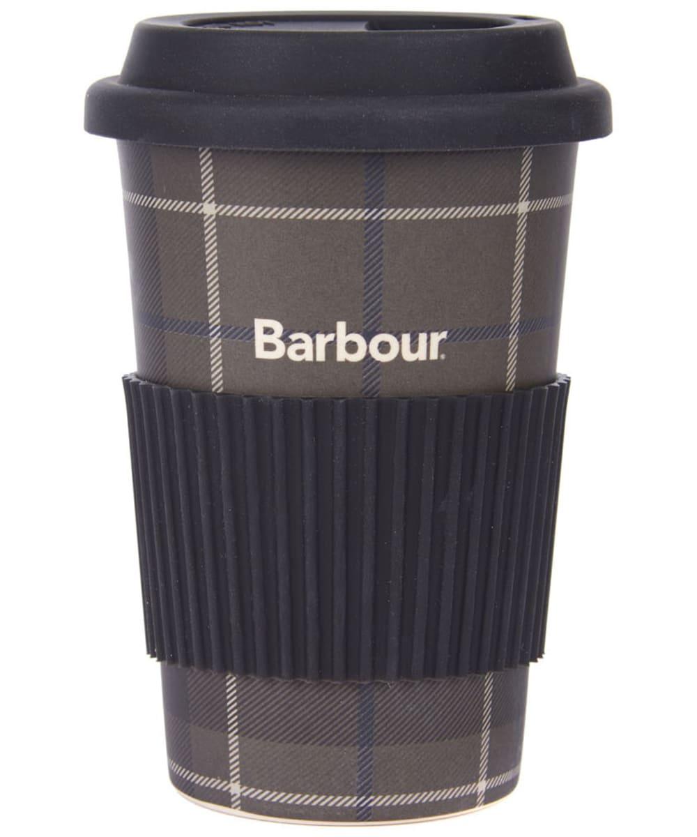 BARBOUR TRAVEL MUG GREY