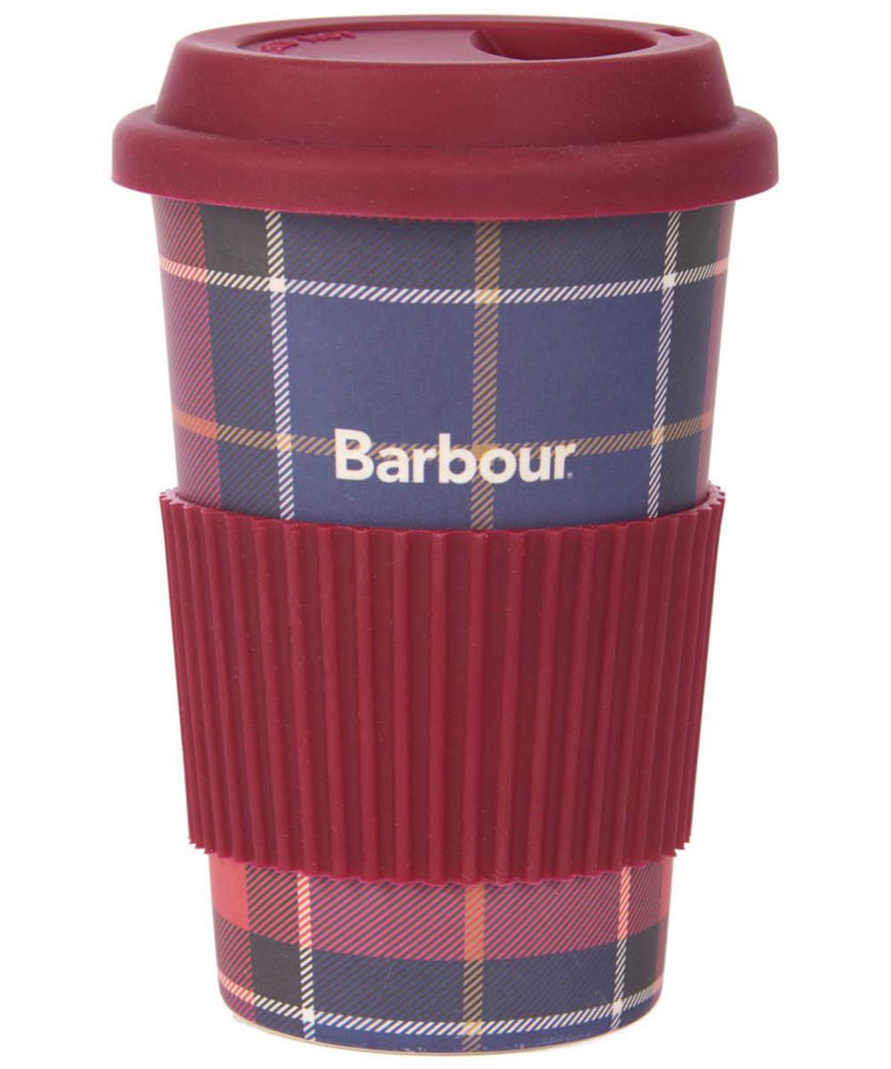 BARBOUR TRAVEL MUG RED3801