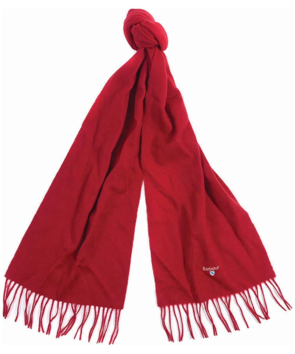Barbour Plain Red