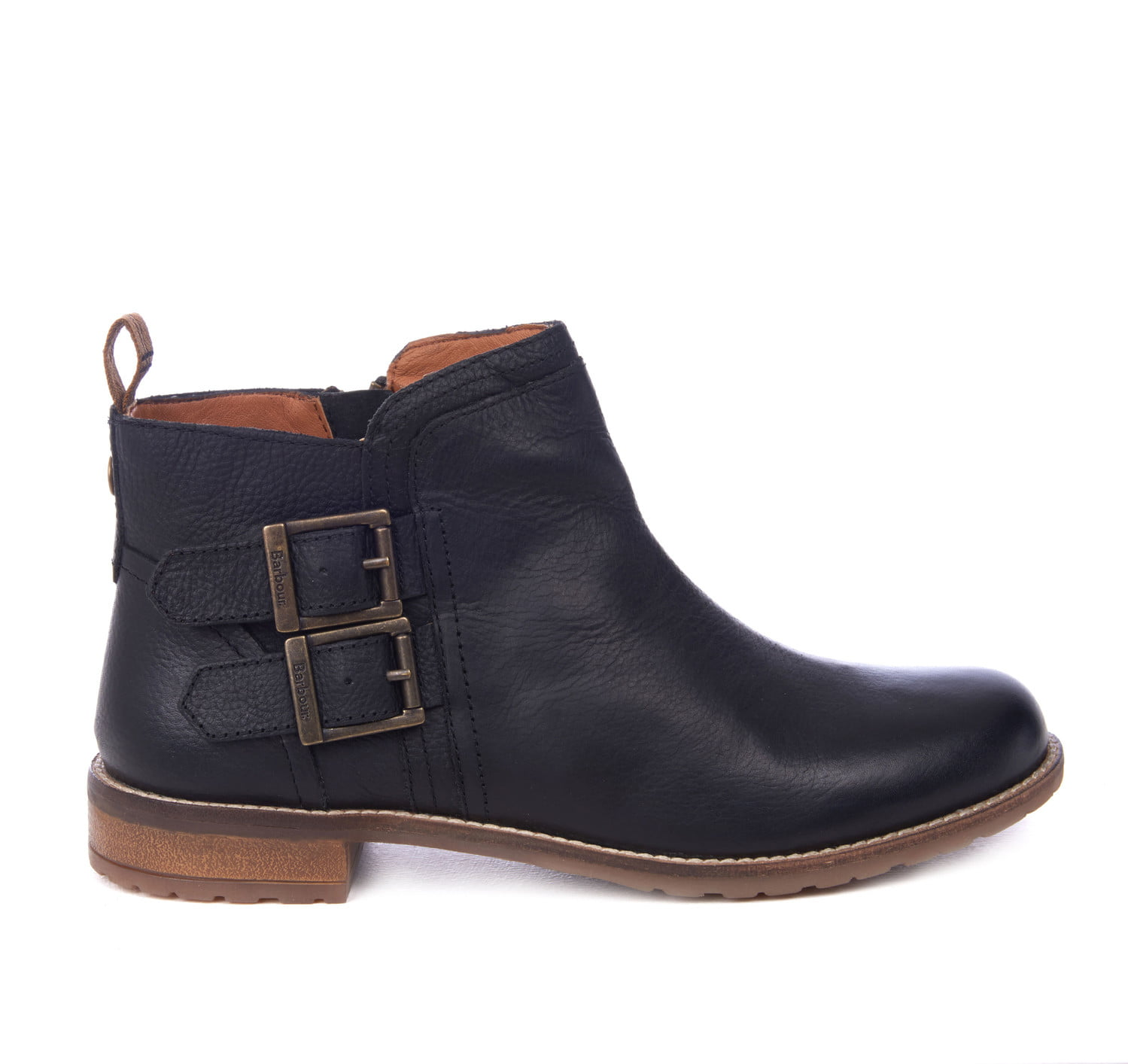 BARBOUR NEW SARAH BUCKLE ANKLE BOOT0212BK71_carryfwd_flat