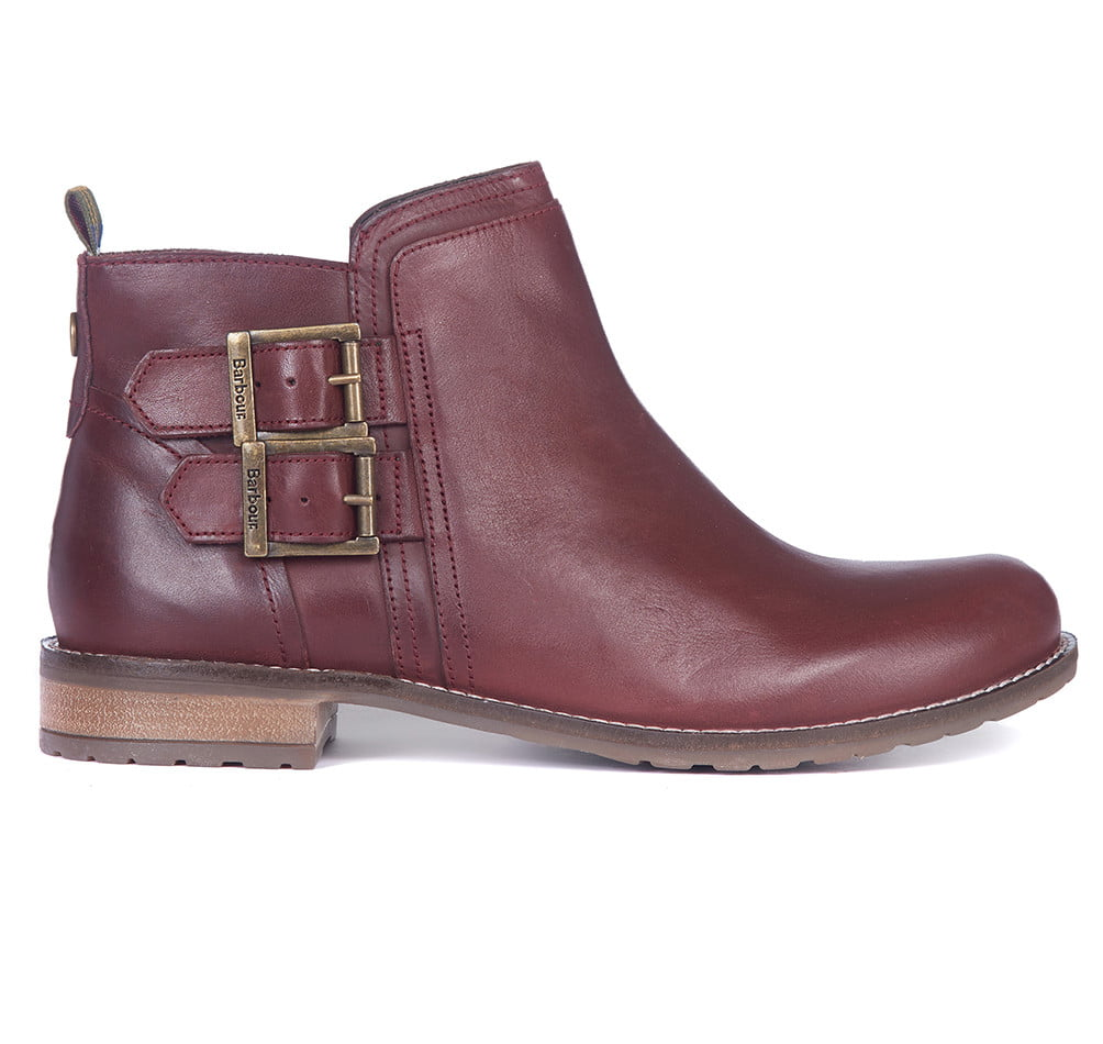 BARBOUR NEW SARAH BUCKLE ANKLE BOOT0212RE98_01front