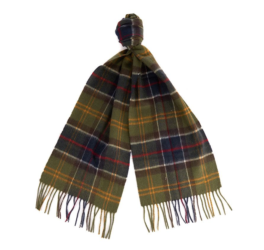 Barbour classic Tartan mix Scarf0002TN11_carryfwd_front