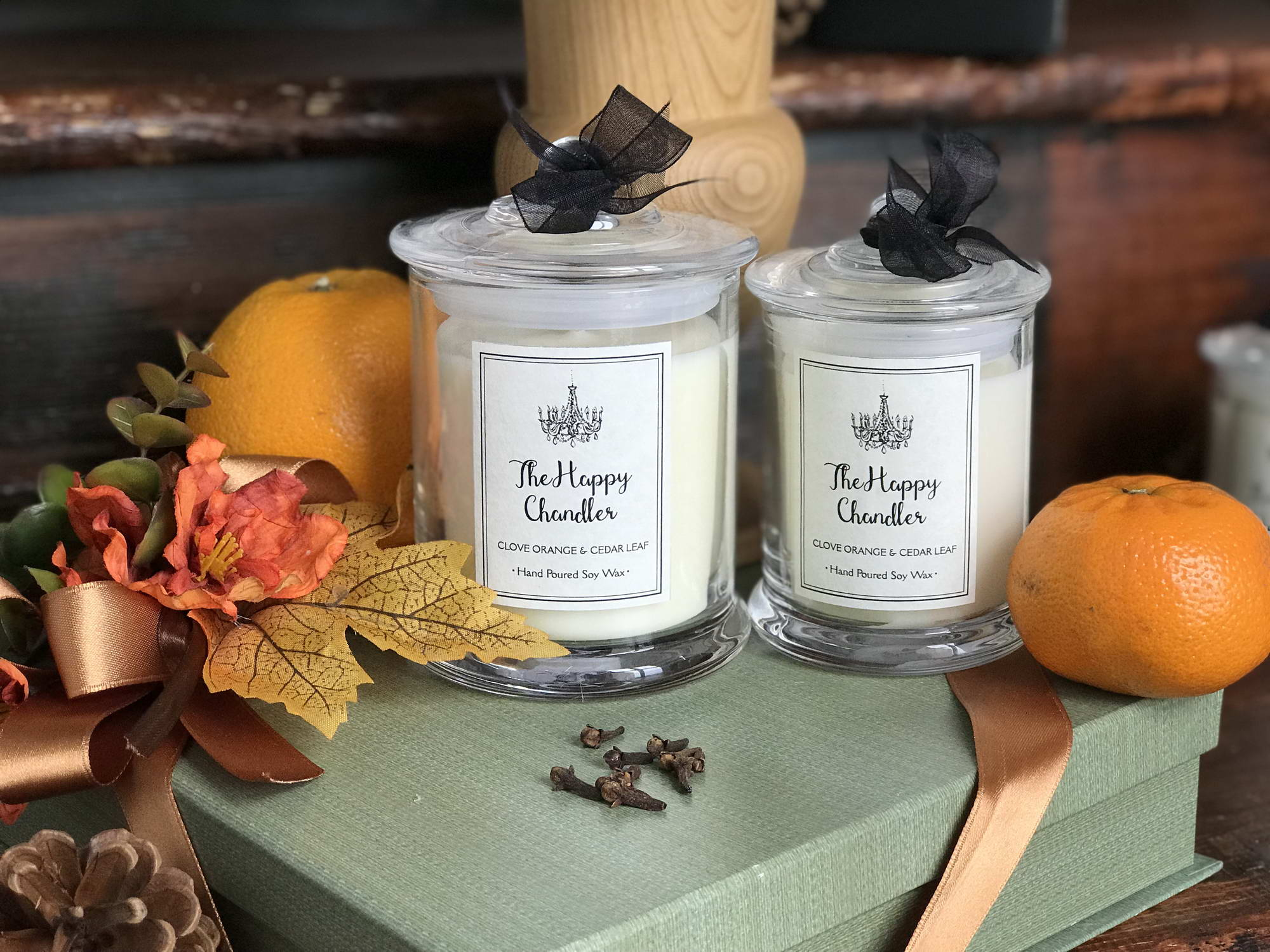 the happy chandler luxury scented candles and profesional scent services