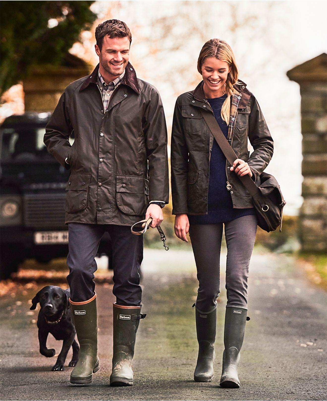 barbour-Olive-Beaufort-Waxed-Jacket