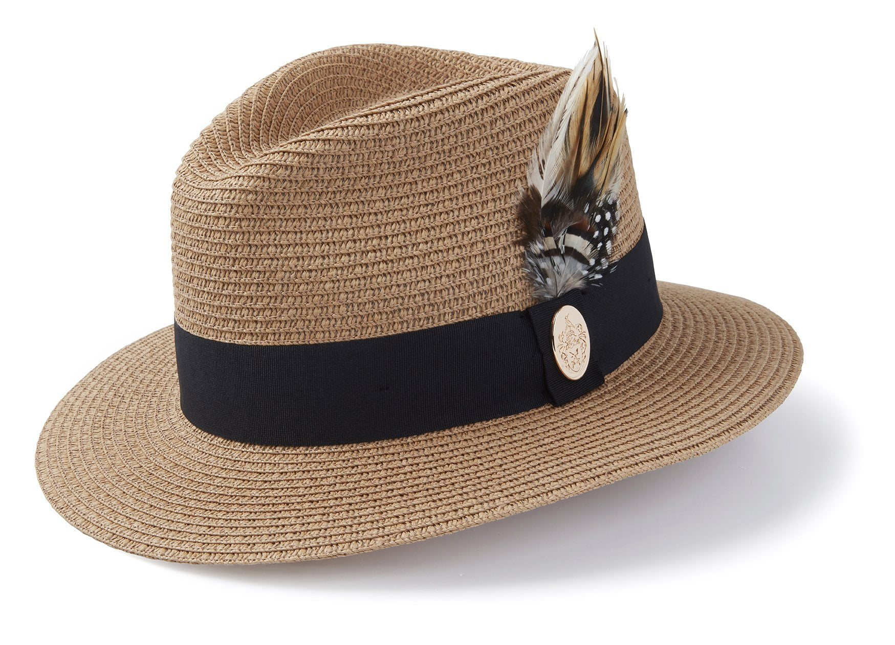 hicks-brown-fedora-the-aldeburgh-fedora-in-natural-black-ribbon-natural-aldeburgh-fedora-black-ribbon-guinea-and-pheasant-feather-hicks-brown-15989296070738